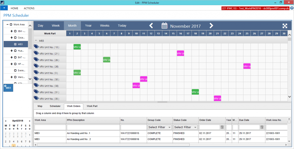 CX Scheduler planning tool ERP Scheduler Microsoft Dynamics 365