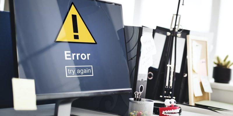 Fehlerquelle Programmierung