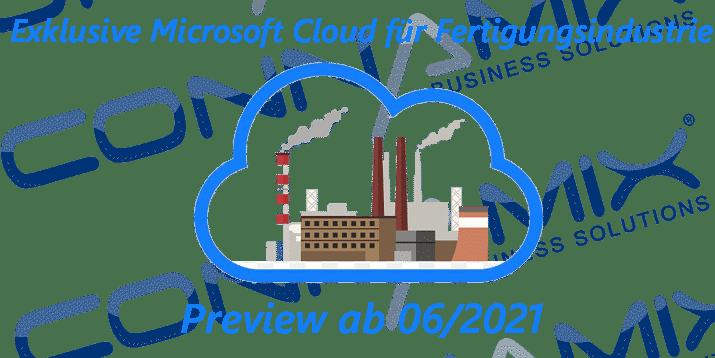 Fertigungsindustrie Cloud Microsoft